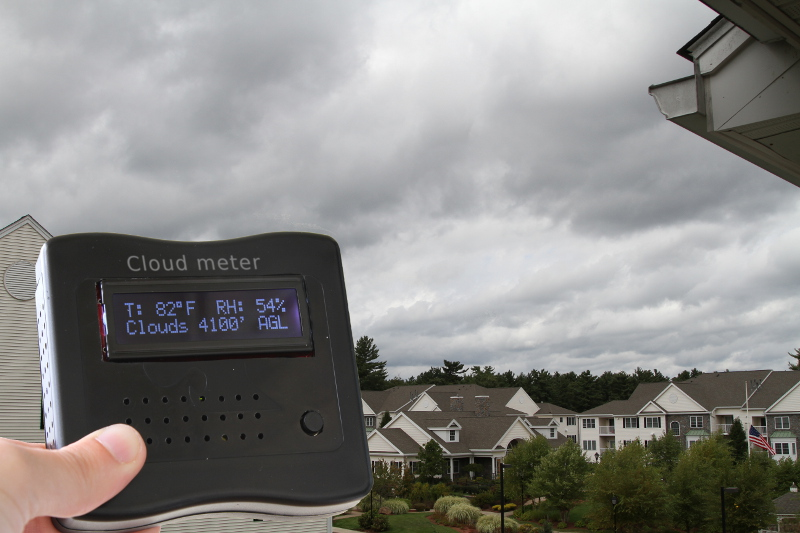 Cloud meter: estimates cloud base altitude