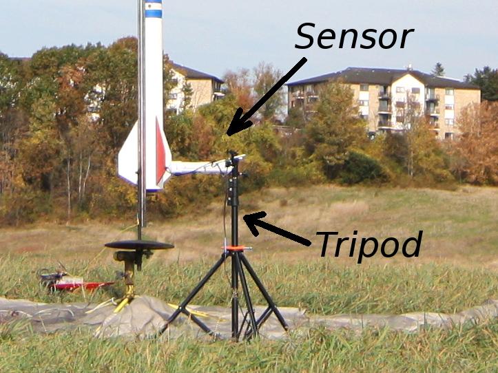 Lift-off sensor near HPR launch pad