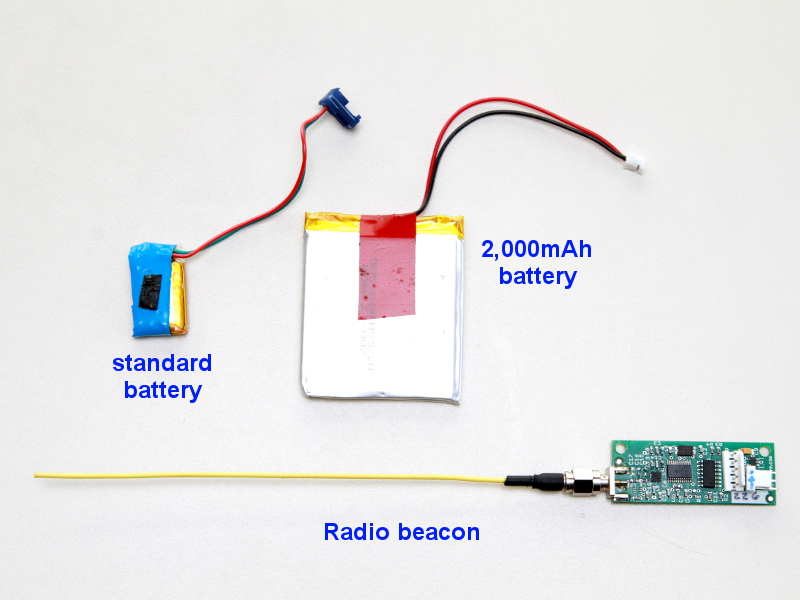 BigRedBee radio beacon