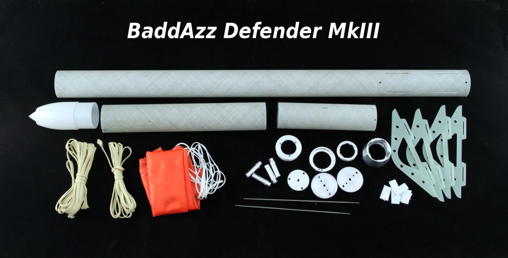 BaddAzz Defender MkIII Kit