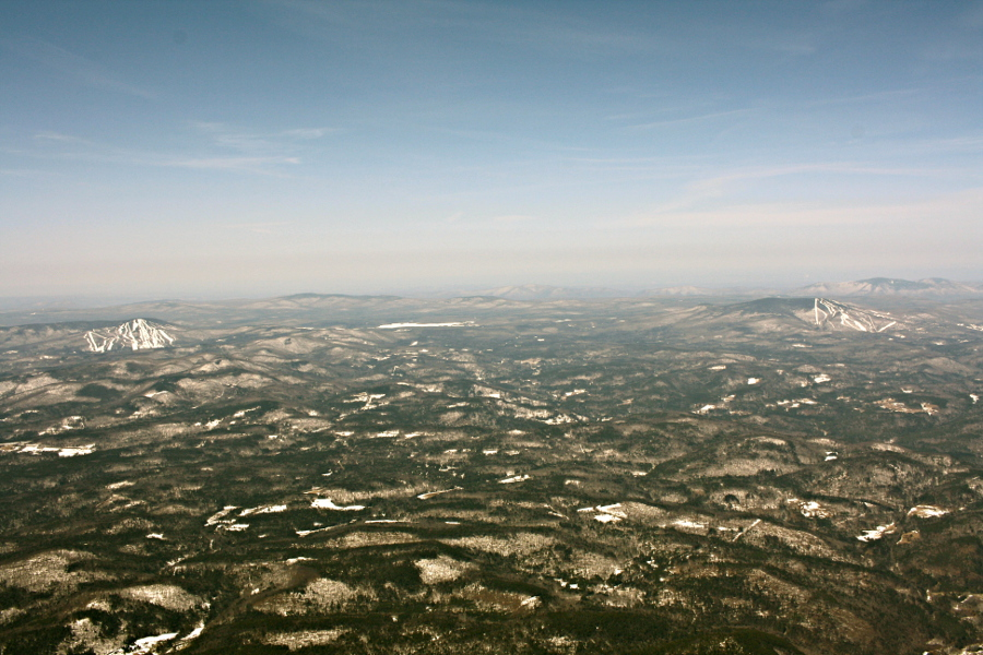 High Altitude Balloon - flying above New Hampshire