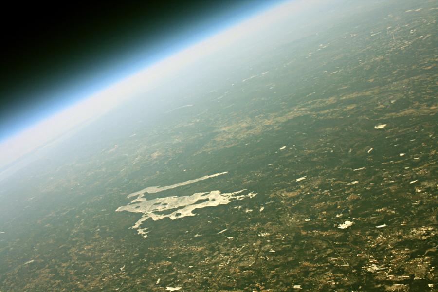 High Altitude Balloon - Quabbin Reservoir