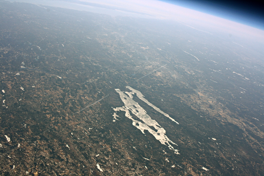 High Altitude Balloon - Quabbin Reservoir