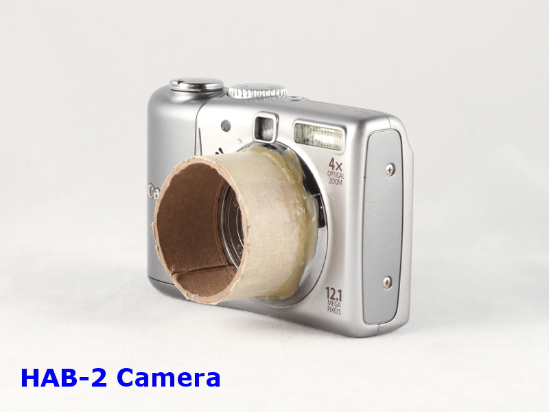 HAB-2 Point-and-shoot camera